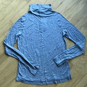 ZARA Long-sleeve mock turtleneck T-shirt NEW